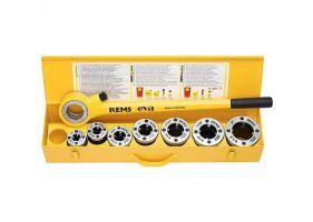 """REMS Clupa filetat Eva Set R 3/8 - 1 1/4""""     R 3/8-1/2-3/4-1-1 1/4""""  520013"""