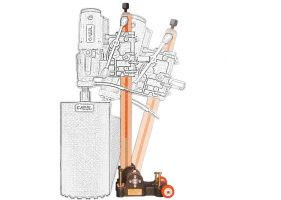 Cabel CAS 350, suport pentru CSN-14A-BA, reglaj unghi +/-60 grade