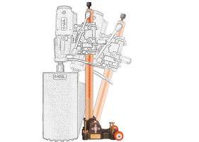 Cabel CAS 250, suport pentru CSN-10A-BA, reglaj unghi +/-60 grade