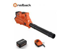Redback Pachet E435C+EP20+EC20 Suflanta frunze acumulatori 40V, acumulator 40V/2Ah, incarcator 40V/2A