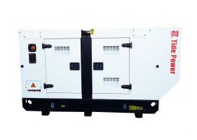 Tide Power TC25C-T Generator insonorizat diesel trifazat, 25kVA, 36A, 1500rpm cu automatizare