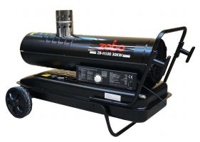 Zobo ZB-H100 Tun de aer cald, ardere indirecta, 30kW