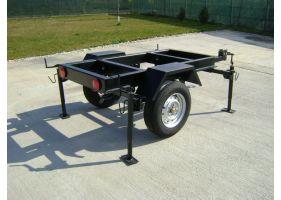 Kipor KDE35SST trailer generator, cadru 2000x1050mm
