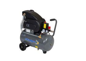 Stager HM2024F compresor aer, 24L, 8bar, 200L/min, monofazat, angrenare directa