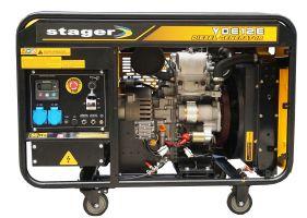 Stager YDE12E Generator open frame diesel monofazat, 8.5kW, pornire la cheie