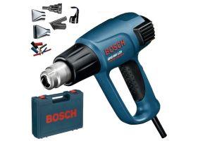 Bosch GHG 660 LCD suflanta aer cald, 2300W, max.600C, 250-500L/min, set accesorii