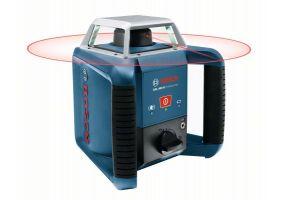 Bosch GRL 400 H Nivela laser rotativa, 20m, receptor 400m, precizie 0.08 mm/m