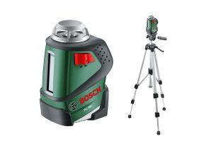 Bosch PLL 360 Set nivela laser plan, 20m, precizie 0.4 mm/m + Stativ + Geanta protectie