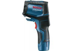 Bosch GIS 1000C Termodetector -40C/+1000C, precizie 2% + 1 x Acumulator GBA 12V 2.0Ah + Incarcator rapid GAL 12V-40 Professional + L-Boxx 136