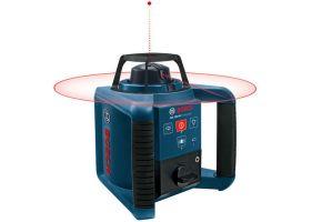 Bosch GRL 250 HV Nivela rotativa, receptor 125m, precizie 0.1 mm/m