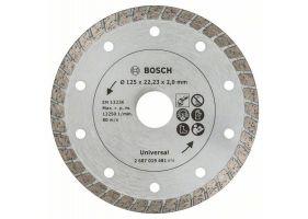 Disc de taiere diamantat Turbo 125mm