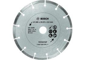 Disc de taiere diamantat pentru materiale de constructii 180mm