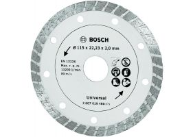 Disc de taiere diamantat Turbo 115mm
