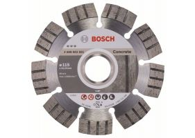 Disc diamantat Best pentru beton 115 x 22.23 x 2.2mm