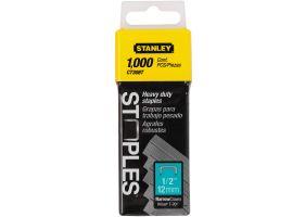 Stanley 1-CT308T Capse pentru cabluri - tip CT300 (12mm)