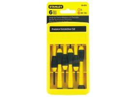 Stanley 0-66-052 Set 6 surubelnite FATMAX precizie: dreapta 1,4/2/2,4/3 mm Phillips PH0,PH1