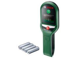 Bosch Universal Detect Detector digital, 100mm + 4 x Baterii 1.5V LR03 (AAA)