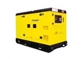 Stager YDY303S3 Generator silent, diesel, 303kVA
