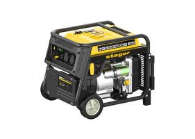 Stager YGE5500i Generator digital invertor monofazat, 5.0kW, benzina, pornire la sfoara