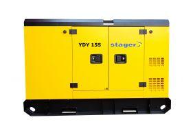 Stager YDY15S Generator insonorizat diesel monofazat 14kVA, 57A, 1500rpm
